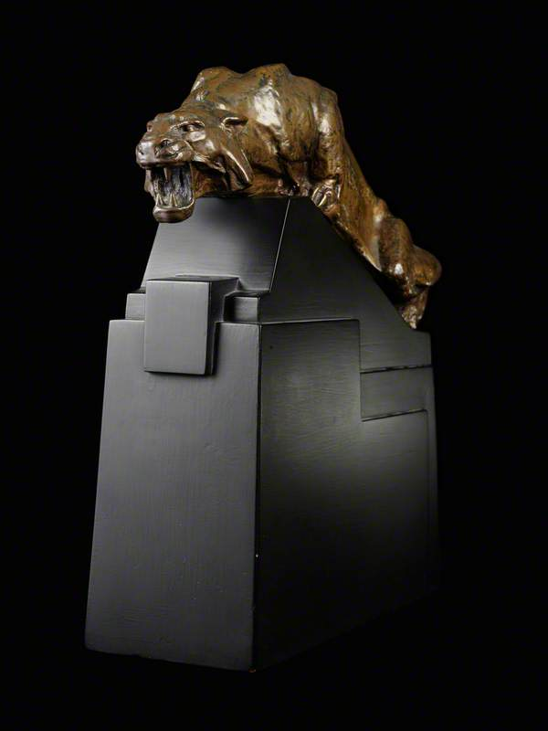 Tiger, Maquette for Port Tewfiq Memorial