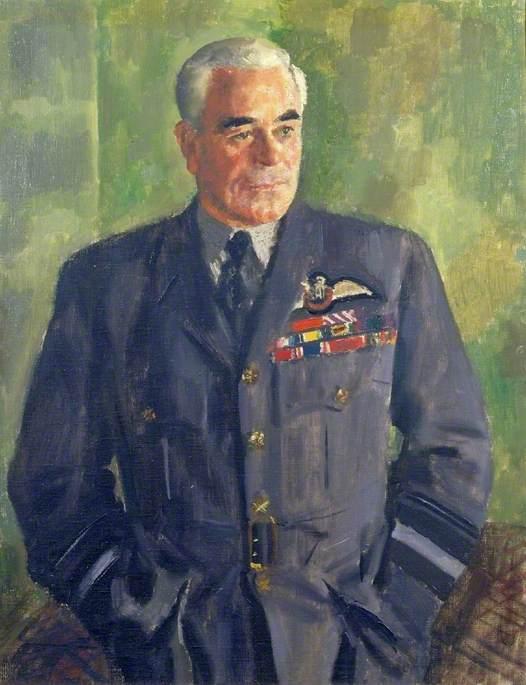 Air Vice-Marshal Richard E. Saul, CB, DFC