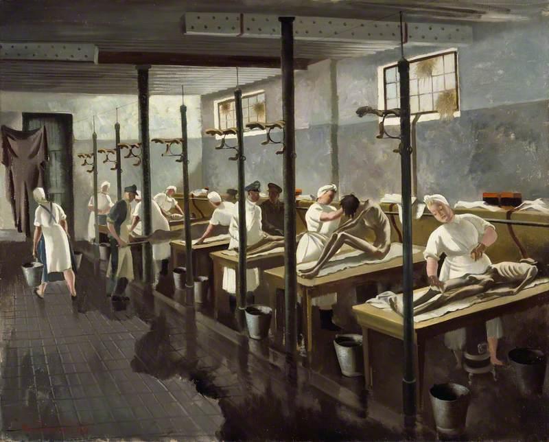 Human Laundry, Belsen, April 1945