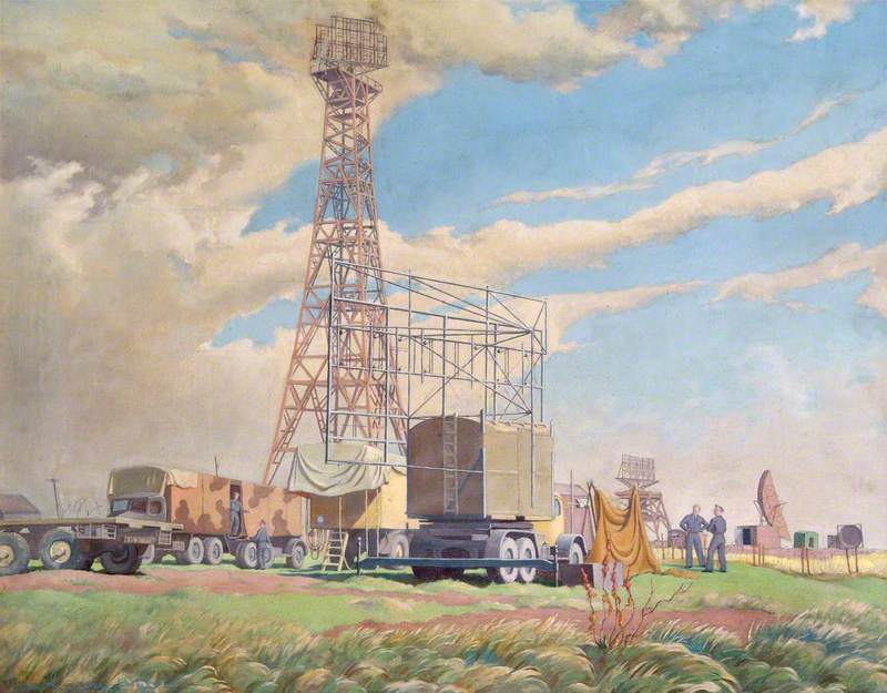 An 'Interception Chain Home Low' Radar Station