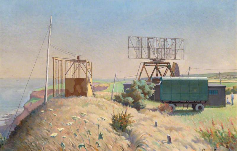 A 'CHL' (Chain Home Low) Radar Station