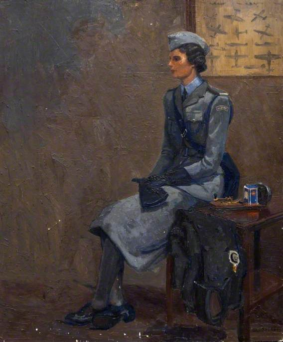 A Women's Royal Naval Service Officer