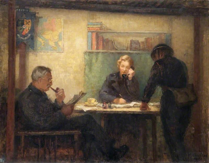 A Warden's Post in Kensington