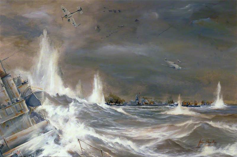 Channel Dash: The Attempt to Halt the Progress of the Battleships 'Scharnhorst' and 'Gneisenau' through the Channel, 12–13 February 1942