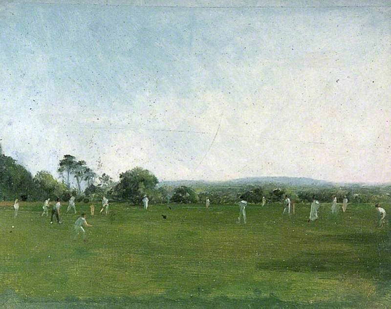 Cricket Match at Heathfield Park, Sussex