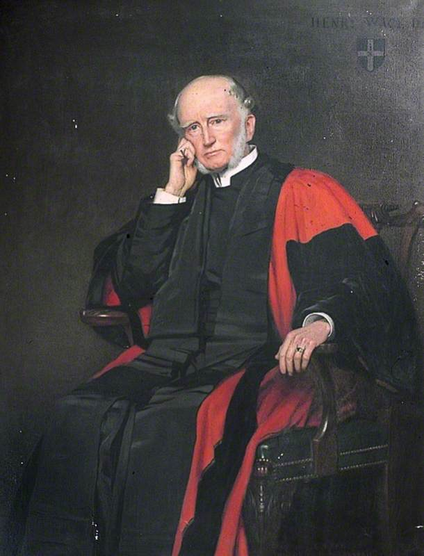 Dr Henry Wace (1836–1924), Dean of Canterbury (1903–1924)