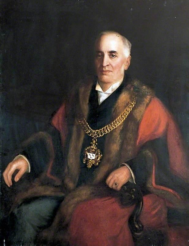 Alderman Collard, Mayor of Canterbury
