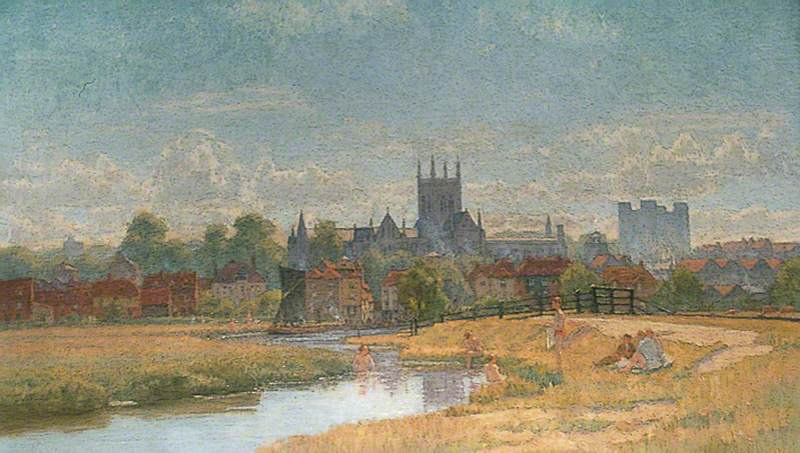 Old Rochester, Kent, before the Building of the Railway