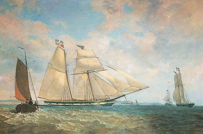 Topsail Schooner 'Commodore'