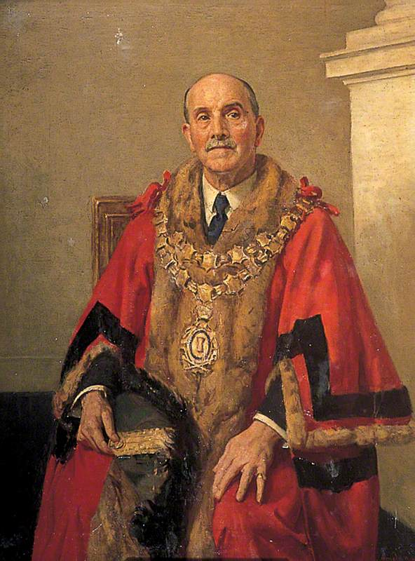 Alderman W. E. Thomas, Mayor of Gravesend (1921 & 1922)