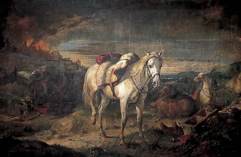 Riderless War Horses After the Battle of Sedan