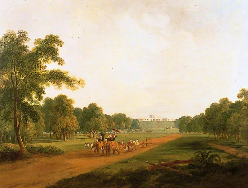 Allington Hunting Party in India