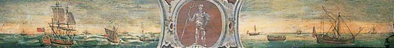 Fleet with Neptune in Central Cartouche