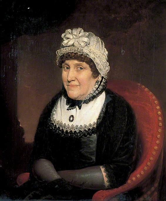 Mayoress Bradly, Wife of Stephen Bradley, Mayor (1817–1818)