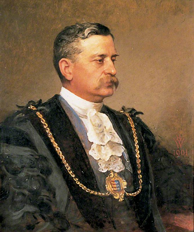 William James Hughes (1846–1921), Mayor (1882–1883, 1888–1890, 1896–1899 & 1912–1918)