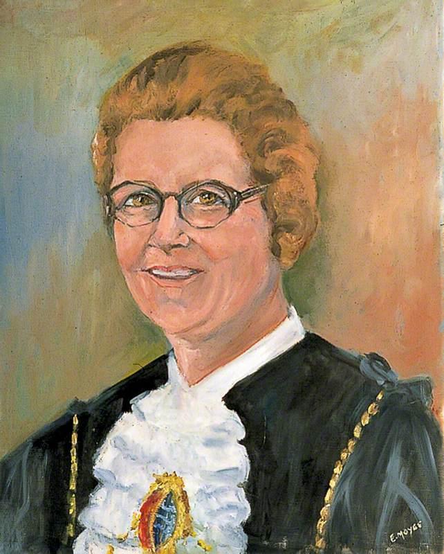 Mrs Jean C. Maughan, Mayor (1970–1971)