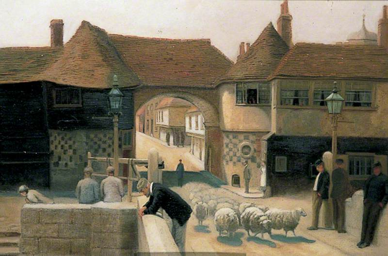 Barbican and Tollbridge, Sandwich, Kent