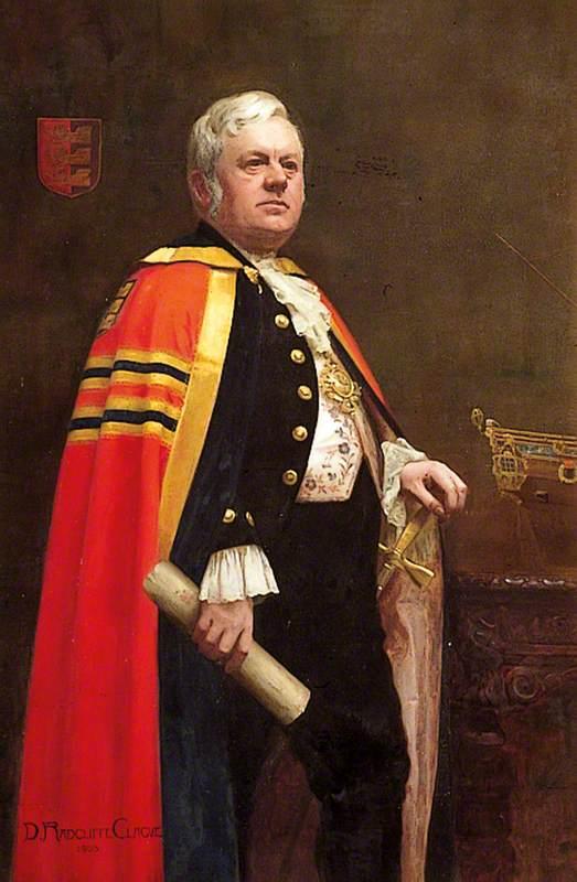 Reverend Joseph Robert Diggle (1849–1917), Mayor of Tenterden (1895–1896 & 1901–1902)