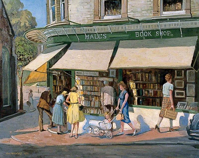 Hall's Bookshop, Chapel Place, Tunbridge Wells, Kent