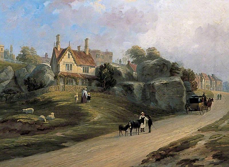 St Helena Cottage, Tunbridge Wells Common, Kent