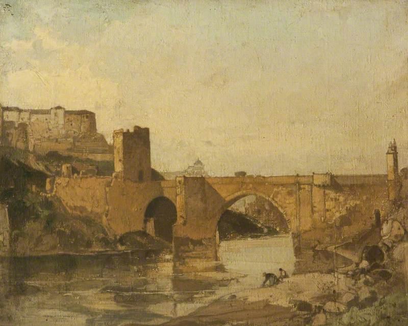 Bridge at Toledo, Spain