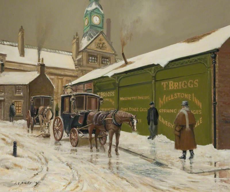 Brigg's Stables, Market, Darwen