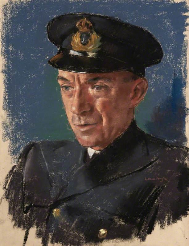 Lieutenant (E.) R. W. Daish, RNR., Chief Engineer