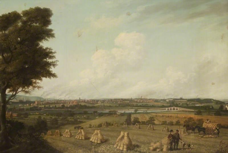 View of Preston from Penwortham Hill