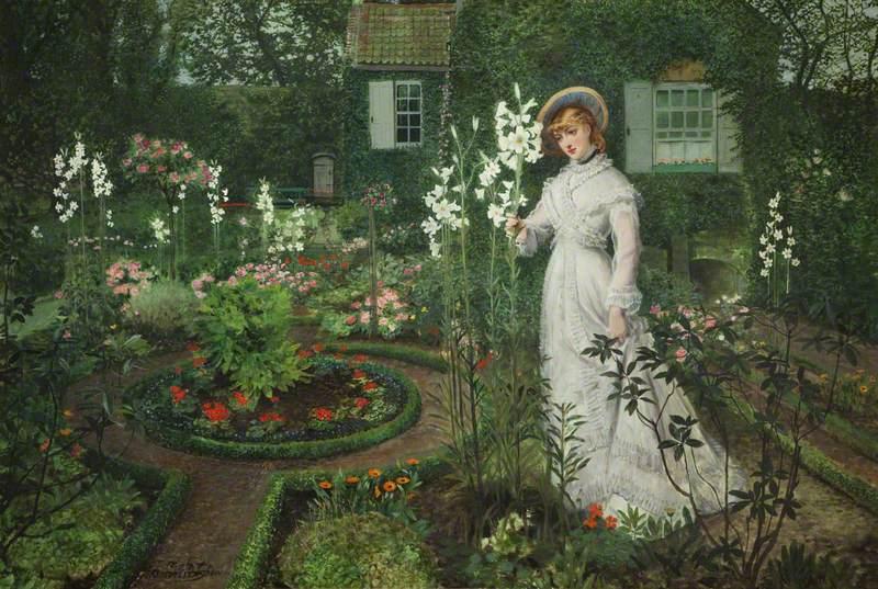 The Rector's Garden, Queen of the Lilies