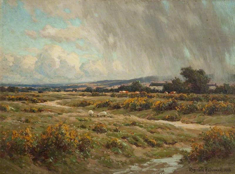 Landscape – Rain O'er the Common