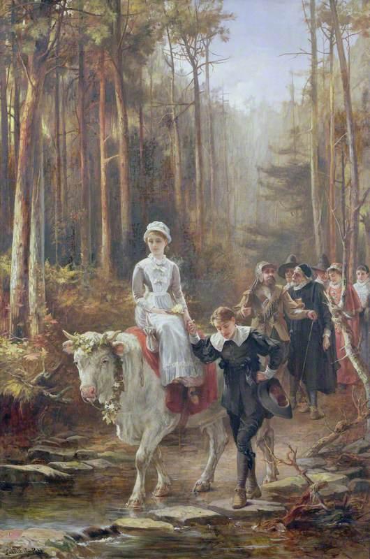 Priscilla, the Courtship of Miles Standish