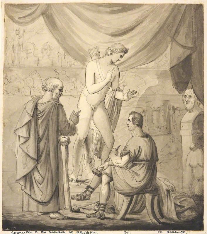 Socrates in the Studio of Phidias