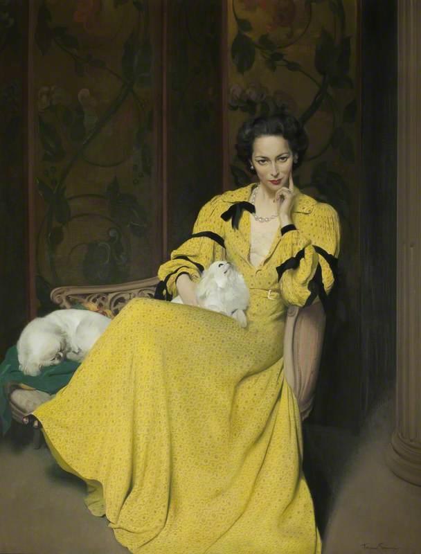 Pauline in the Yellow Dress