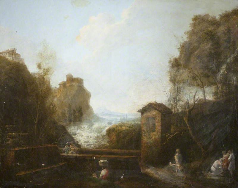 Classical River Landscape