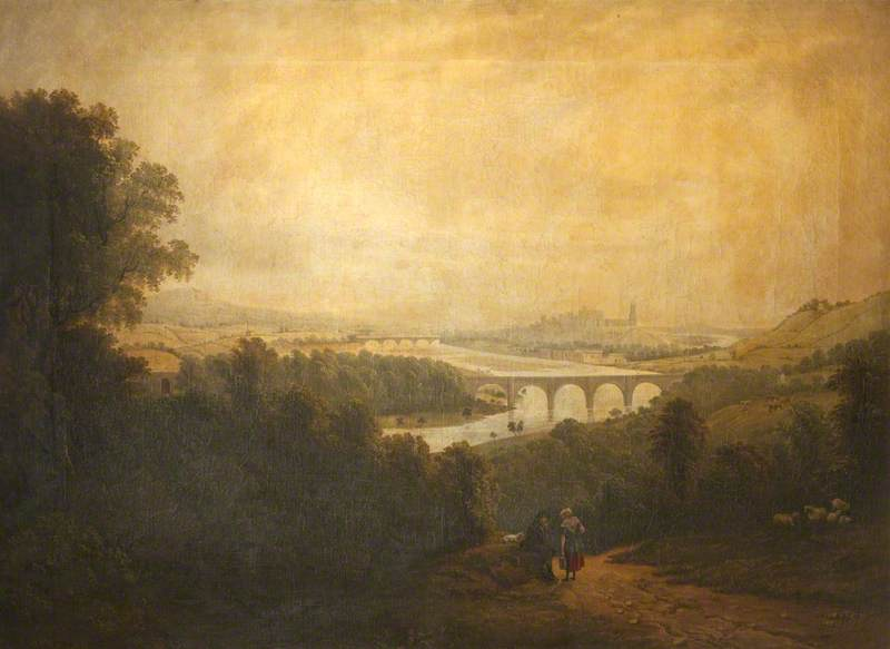 Lancaster with the Aqueduct Bridge