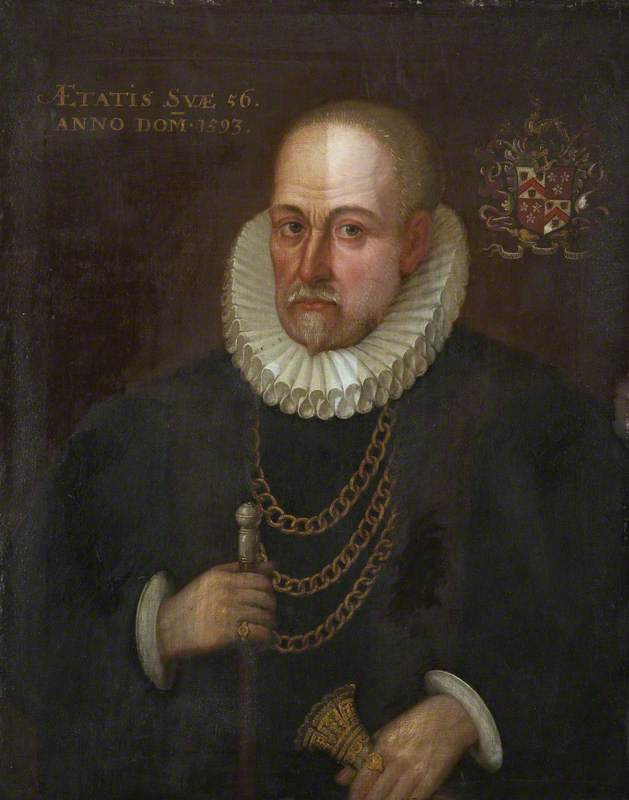 Sir William ffaryngton of Worden Hall (1537–1610), Leyland, Lancashire