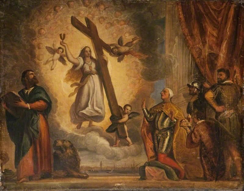 Doge Antonio Grimani Kneeling before Faith