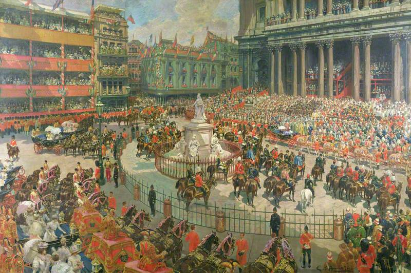 Queen Victoria's Diamond Jubilee