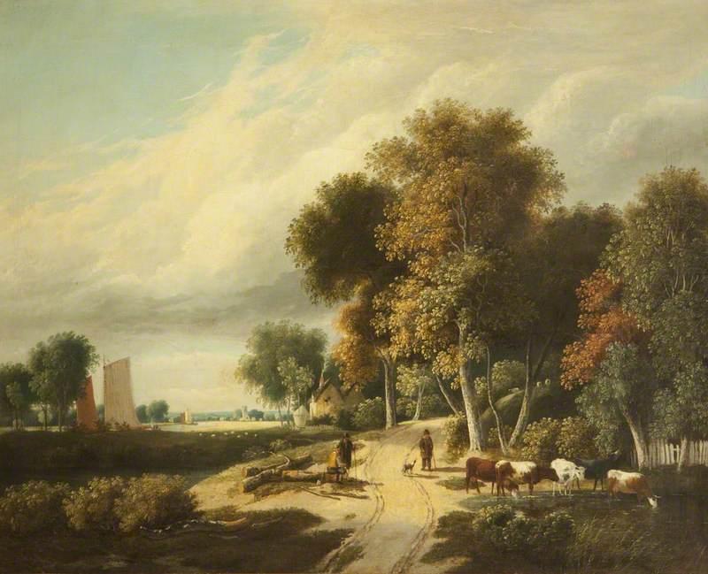 A Scene in Norfolk