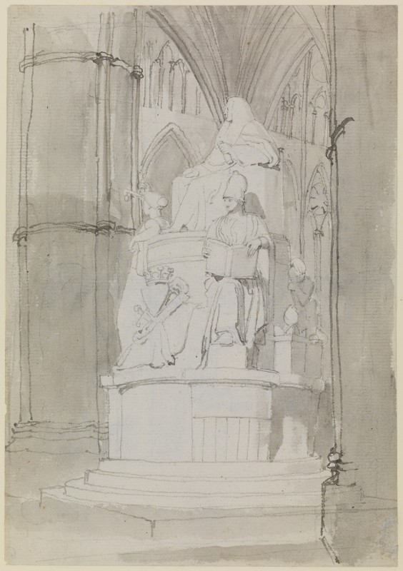 A Design, Half-Left, for the Monument of Lord Mansfield, Westminster Abbey
