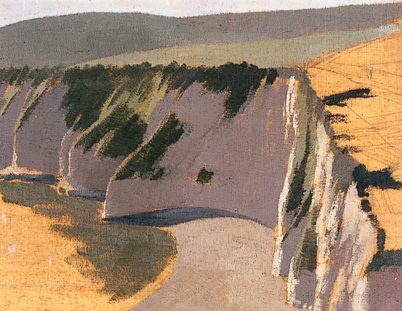 Cliffs at Beer, Devon