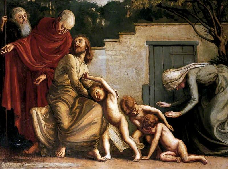 'Suffer the little children to come unto me'