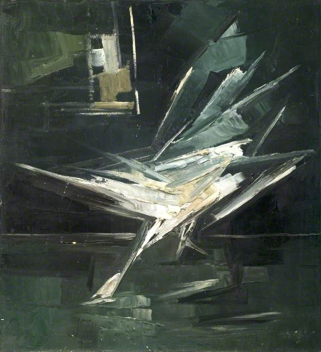 Swan Alighting