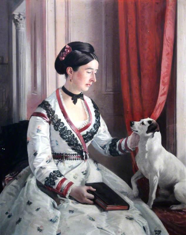 Elizabeth (1829–1885), Daughter of Sir Thomas Beckett, Bt, Wife of Sir Henry Hickman Bacon, Bt