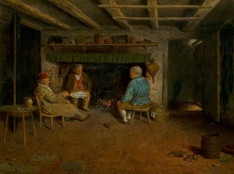 Interior of a Sussex Farmhouse