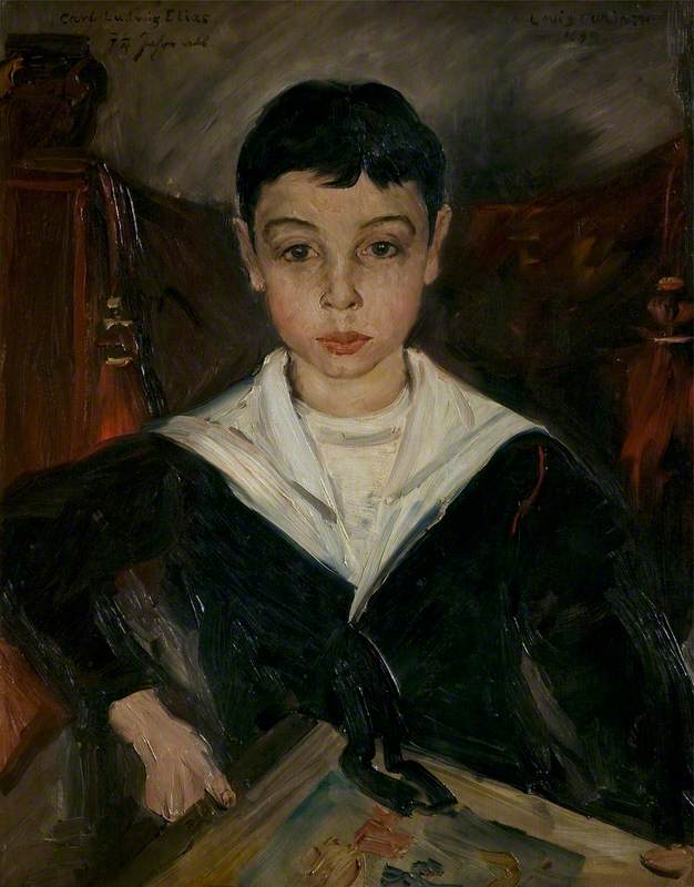 Carl Ludwig Elias, Aged 7 1/4