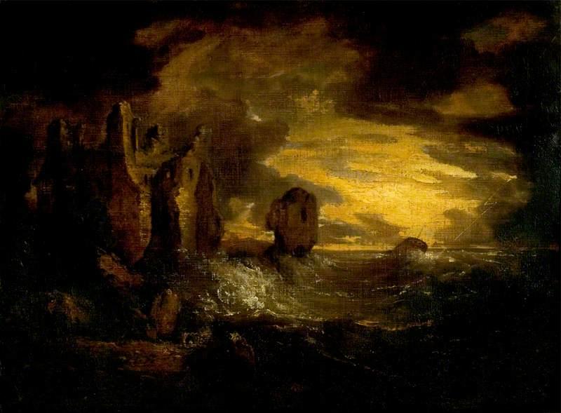 Peele Castle in a Storm, Cumbria