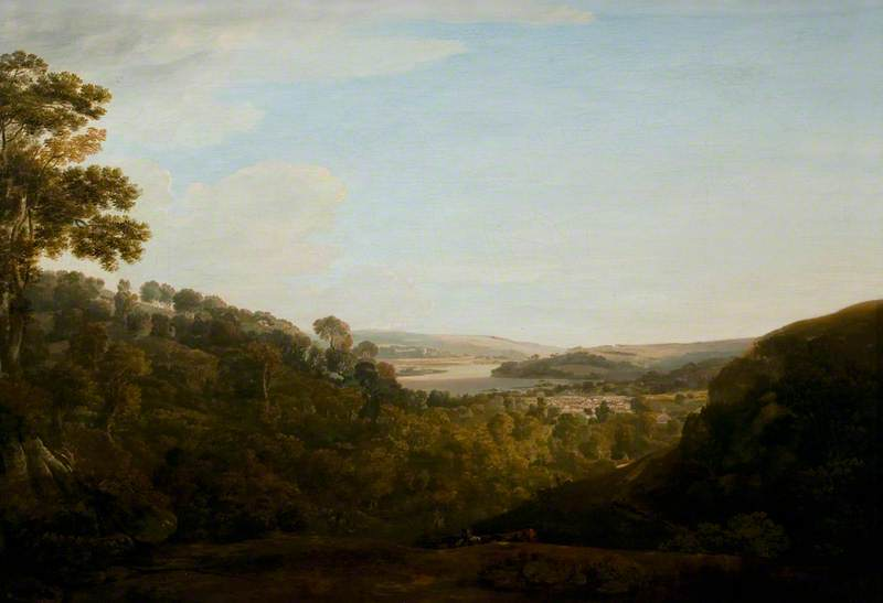 The Valley of the Teign, Devonshire