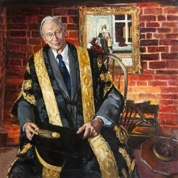 Sir Arnold Hall (1915–2000), Chancellor of Loughborough University (1980–1989)