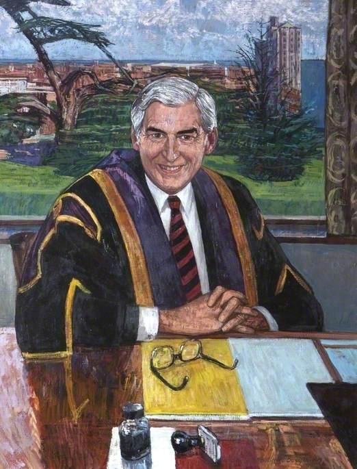 Professor J. G. Phillips (1933–1987), Vice-Chancellor of Loughborough University (1986–1987)